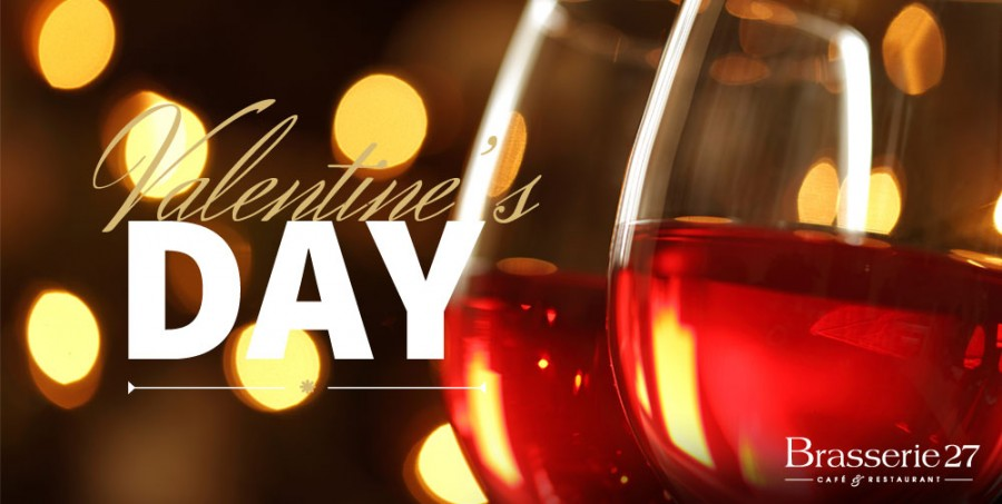 Valentine's Day in Brasserie 27