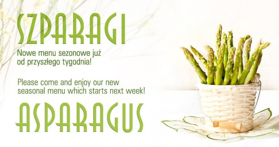 Asparagus – a healthy start to spring!