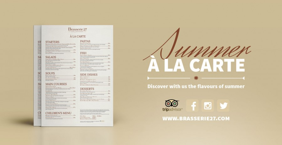 New Summer À La Carte