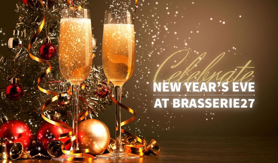 Celebrate New Year's Eve at Brasserie 27