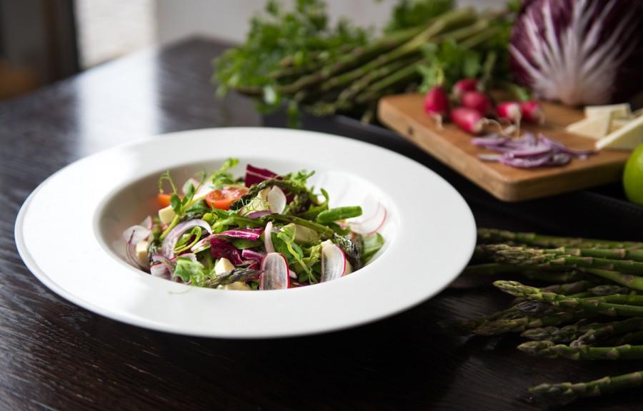 Asparagus menu