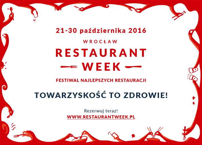 Wrocław Restaurant Week – Edycja Jesienna